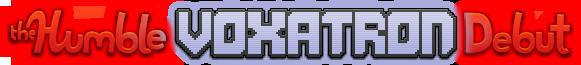 The Humble Voxatron Debut - logo