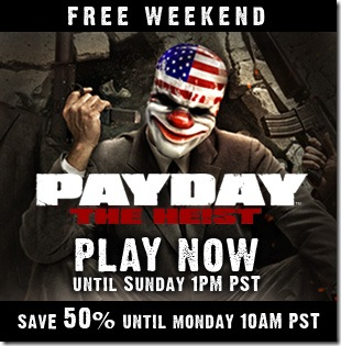 Payday: The Heist - spotlight free weekend